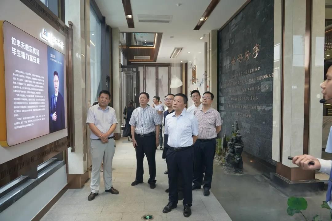 汉滨区政协主席李建飞考察调研说球帝直播app下载iOS府项目